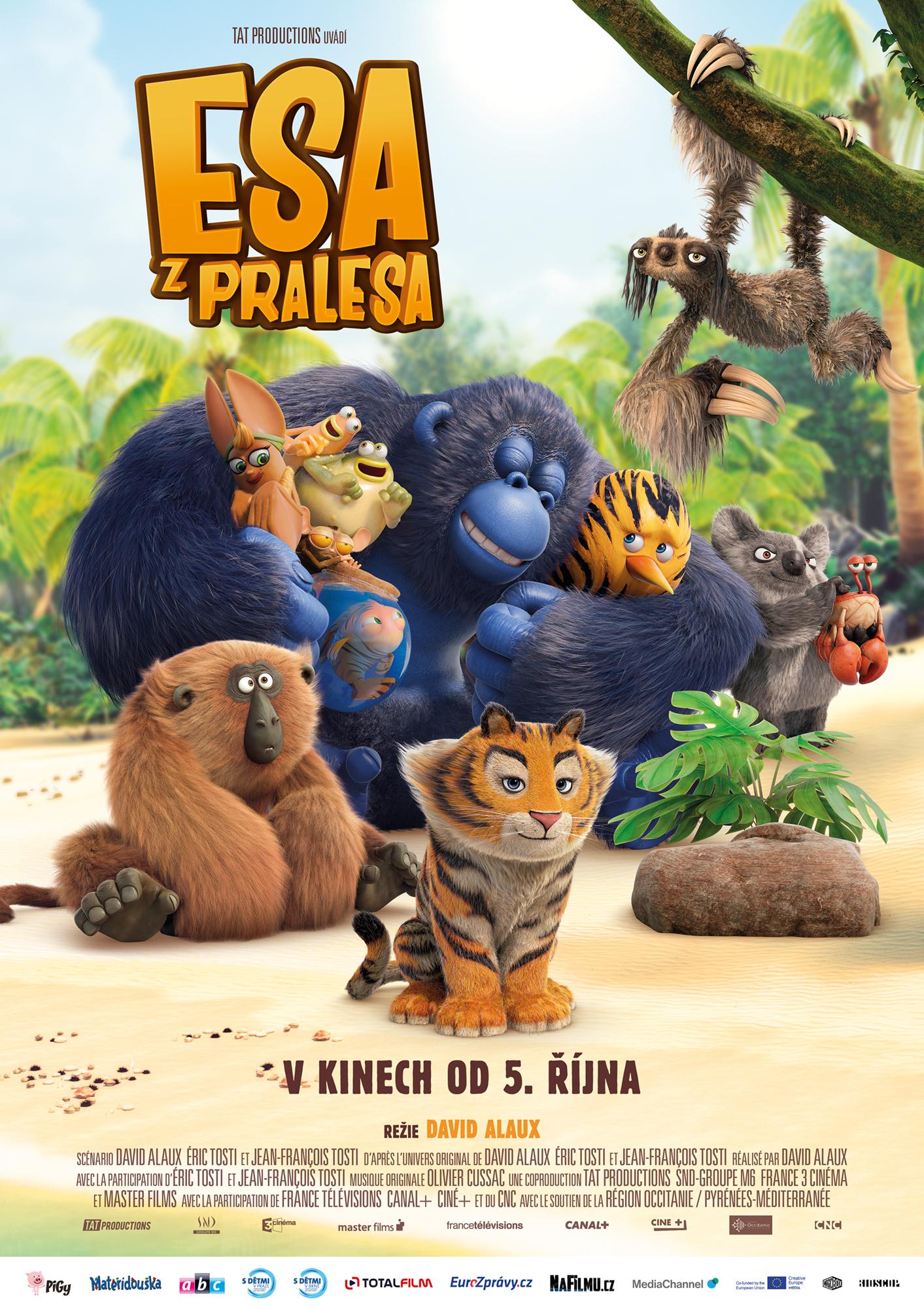 Re: Esa z pralesa / The Jungle Bunch (2017)