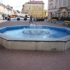 Kašna na Žižkově náměstí