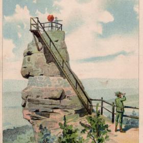Hlavatice, 1900