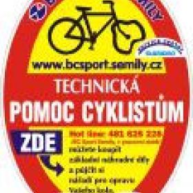 Technická pomoc cyklistům - logo