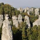 Hruboskalské skalní město – vyhlídka Na Kapelníka