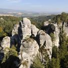 Hruboskalské skalní město – vyhlídka U Lvíčka