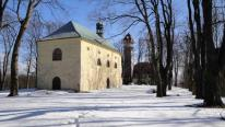 Zimní romantika na vrchu Tábor, autor: Sdružení pro záchranu hradu Kumburku