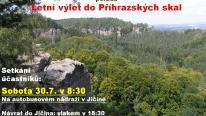 Pozvánka na výlet, autor: ZO ČSOP Prachovské skály