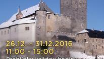 Vánoční prohlídky na hradě Kost, autor: TZ - zaslal Lukáš Klečal