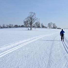 Lomnická lyžařská magistrála, autor: Pavla Bičíková