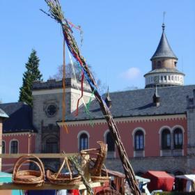 Velikonoční trhy na zámku Sychrov, autor: Archiv - státní zámek Sychrov