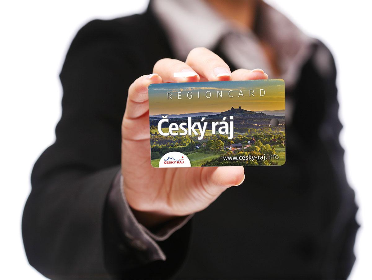 Regionální karta hosta
