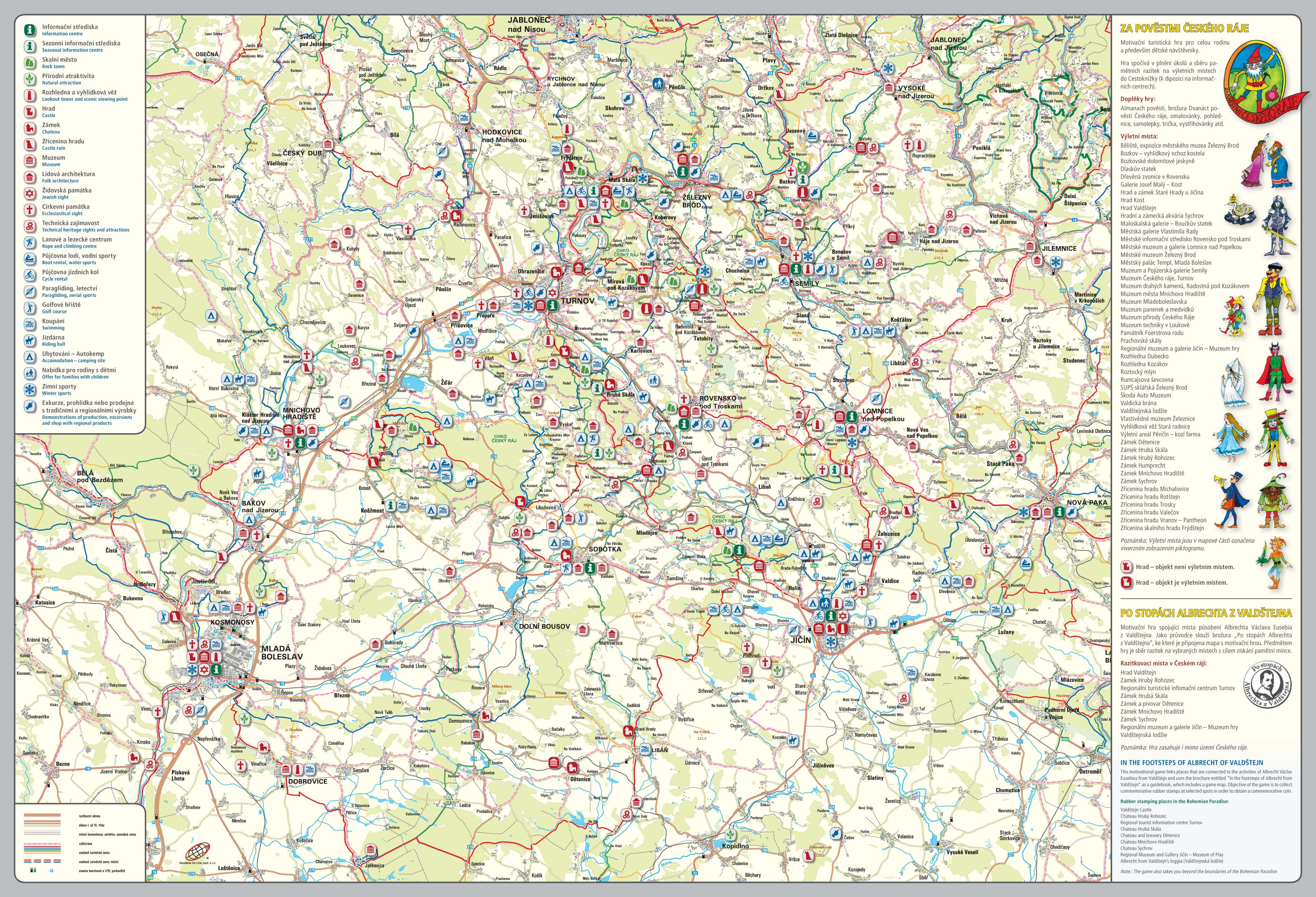 Infomapa Ceskeho Raje Cesky Raj